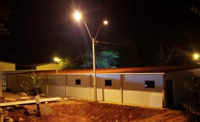 HOY / Avanzan las obras en el futuro pabellón sanitario de San Ignacio