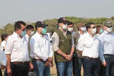 Abdo Benítez aseguró que hoy el Estado tiene una presencia real en el Ñeembucú