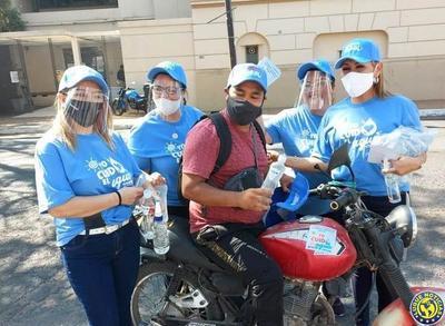 """""""Yo cuido el agua"""", campaña de concienciación de la Essap •"""