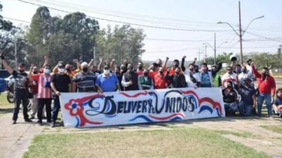 Deliverys ganan 50 mil por 12 horas de trabajo
