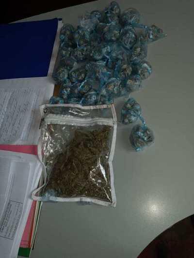 Incautan casi 500 gramos de marihuana dentro del Buen Pastor