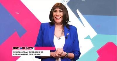 """La Nación / Silvia Flores pone el humor en """"A punto"""""""