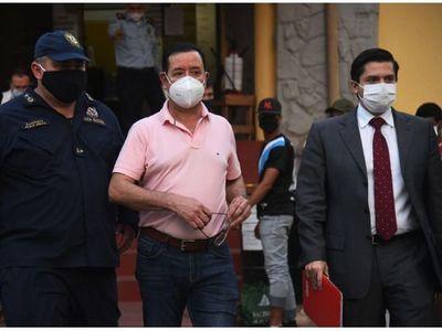 Revocan prisión del diputado Cuevas y ya está con arresto en Sapucai