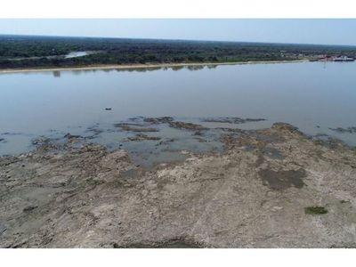 Declaran emergencia hidrológica ante crítica bajante de  nivel del  río