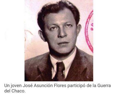 José Asunción Flores en la Batalla de Boquerón