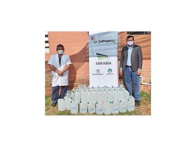 Tecnomyl sigue donando insumos a hospital distrital