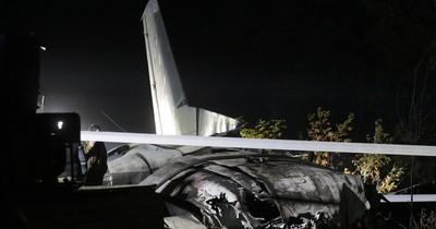 La Nación / Al menos 26 muertos en accidente de avión de entrenamiento en Ucrania