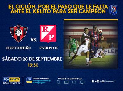 Cerro Porteño quiere una vuelta en su cancha