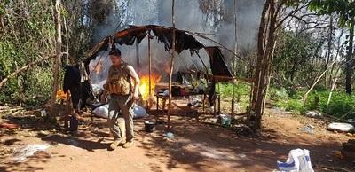 Incautan más de ocho toneladas de marihuana en Caaguazú