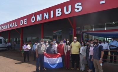 Terminal de Ómnibus del Km 30 quedó oficialmente inaugurada