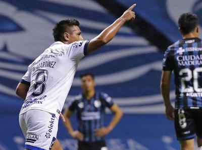 Osvaldo Martínez anota para Puebla