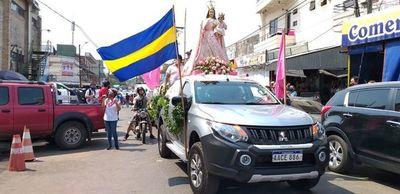 Se inicia festividad mariana en Luque