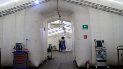 Cierra el último hospital de campaña de São Paulo para pacientes con COVID-19