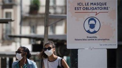 Casos de covid en Francia caen bajo los 16.000 tras día récord