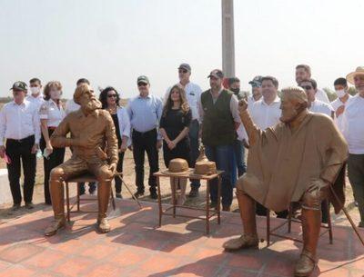 Con obras, cumplen reivindicaciones en Ñeembucú, destaca Abdo Benítez