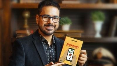 El periodista Jorge Coronel lanzó su libro titulado 'Coronamores'