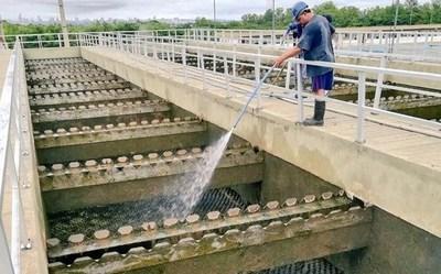 """A 35 cm de que Asunción y su Área Metropolitana """"no sufran alarma"""" por escasez de agua"""