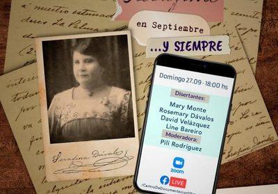 Charla online sobre Serafina Dávalos