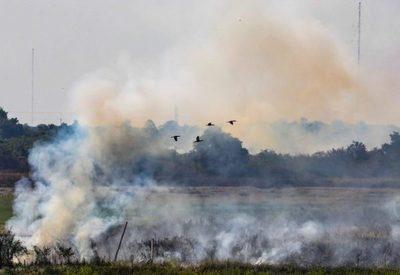 Incendios en todo el Departamento Central