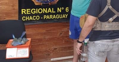 La Nación / Detienen a dos personas por microtráfico en el Chaco