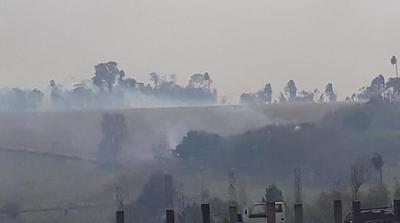 Se reportan varios focos de incendios en Alto Paraná