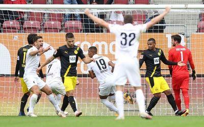 El Dortmund cae ante el Augsburgo