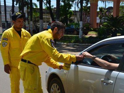 Bomberos denuncian a Municipalidad de Asunción por falta de desembolso del presupuesto
