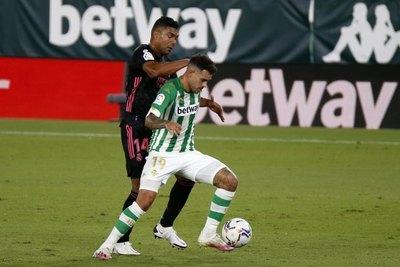 Con 'Tonny' Sanabria de titular, el Betis cayó de local ante Real Madrid