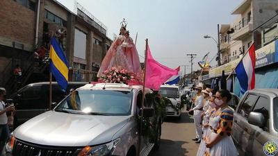 Luqueños inician festejos patronales con la tradicional y emotiva Bandera jeré •