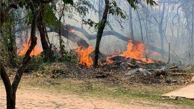 Incendios no cesan y ya afectan a gran parte del país