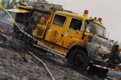 Incendios consumen hasta carro de bomberos