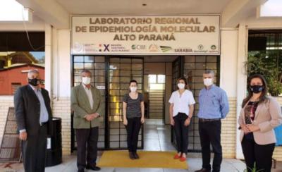 HOY / Alto Paraná aumentará capacidad de procesamiento de muestras