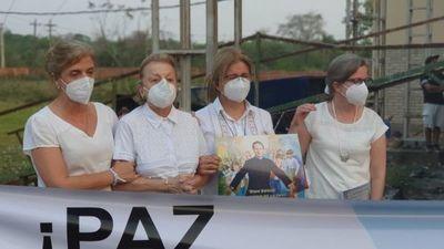 Concepción: Familias de secuestrados participan en auto misa por la paz