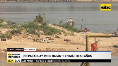 Río Paraguay oguejy 10 cm Paraguaýpe