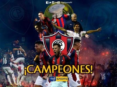 Cerro Porteño es el flamante campeón del torneo Apertura