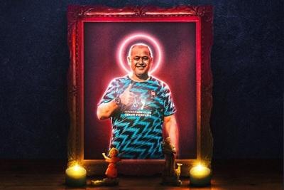 El santo que iluminó al campeón