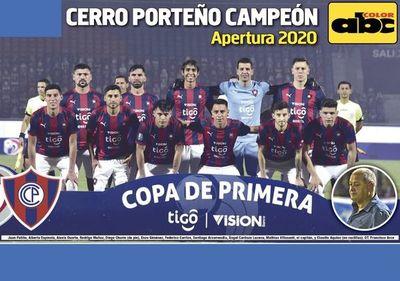 Mañana, el poster del campeón