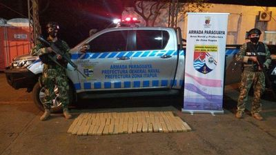 Armada incauta 65 kilos de marihuana en Itapúa