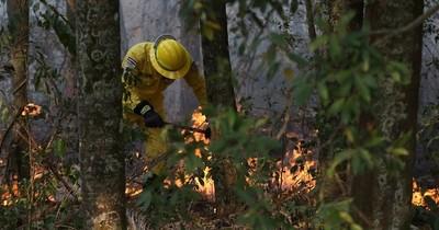 La Nación / Se multiplican focos de incendio en el país
