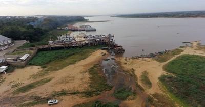La Nación / Con emergencia hidrológica esperan agilizar plazos para dragado del río