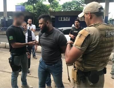 En Brasil dicen que traficante Capilé fue detenido por la Policía Civil de Río
