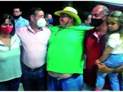 Fiesta de  Cuevas en violación de cuarentena y con vista gorda fiscal