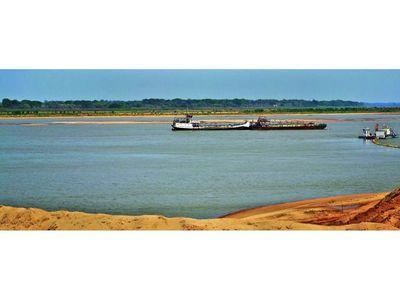 Sequía recrudece bajante del río en el Sur