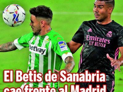 El Betis de Sanabria cae frente al Madrid