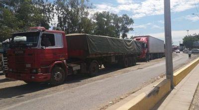 Levantan bloqueo para camioneros paraguayos en Clorinda