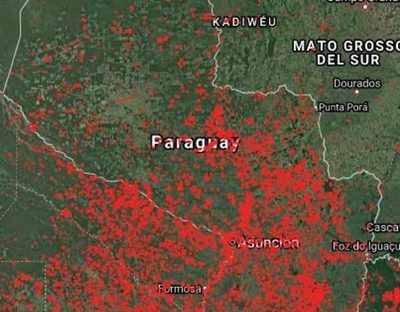 Paraguay en llamas