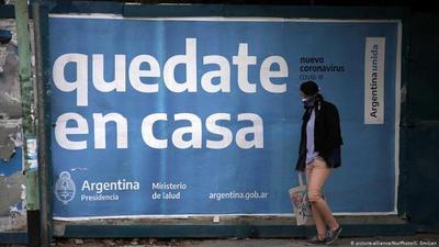 Asado contra la parrilla en Argentina