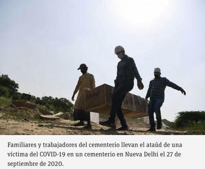 Más de 998.000 muertos por COVID-19 en el mundo