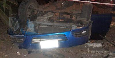 Vuelco de vehículo deja como saldo un fallecido en Caacupé