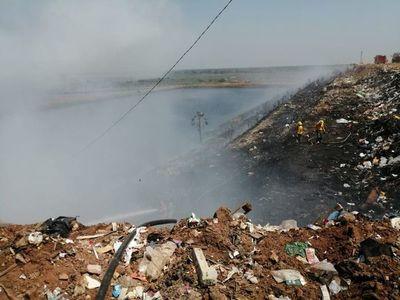 Reportan nuevamente incendio en Cateura